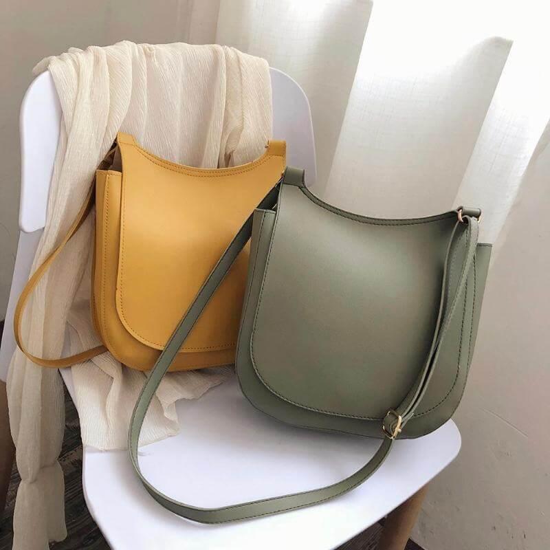 Красивая однотонная сумочка с Алиэкспресс