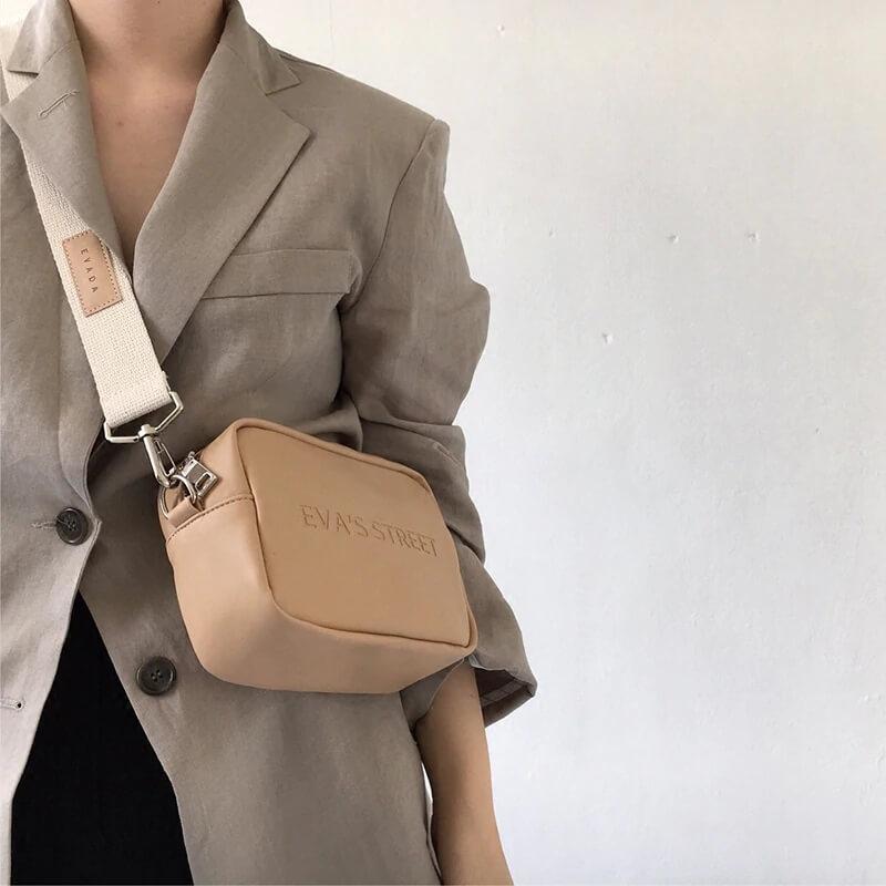 Модная сумочка из кожзама с Алиэкспресс