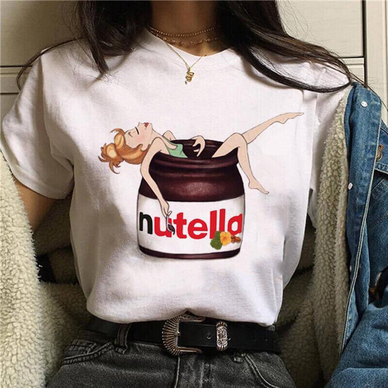 Женская стильная футболка с Алиэкспресс