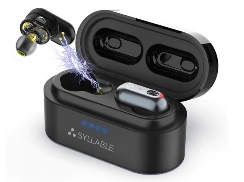 Беспроводные вакуумные наушники SYLLABLE S101 с Алиэкспресс