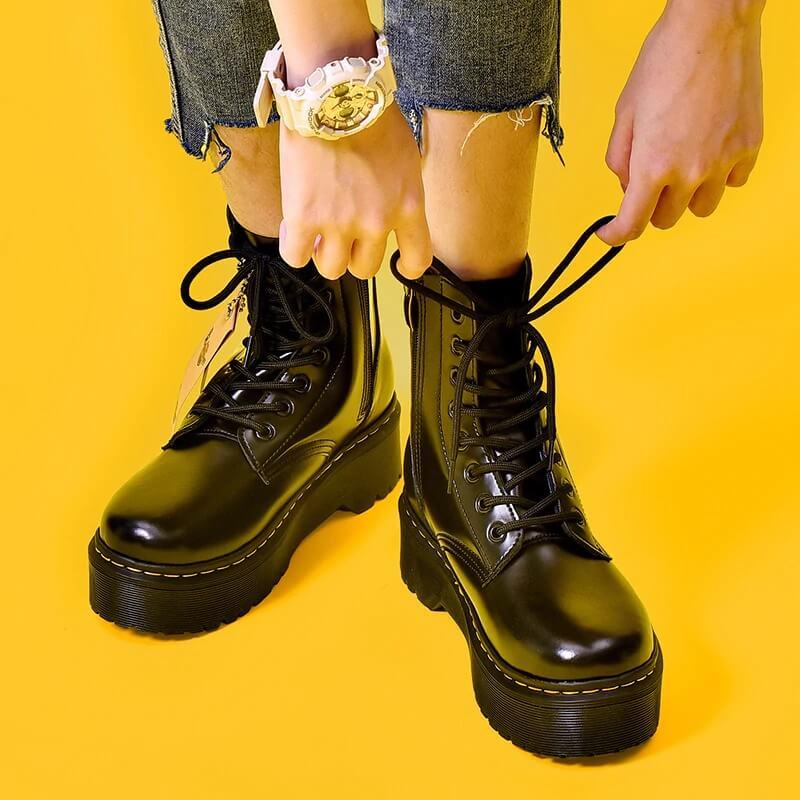 Ботинки на платформе с Алиэкспресс