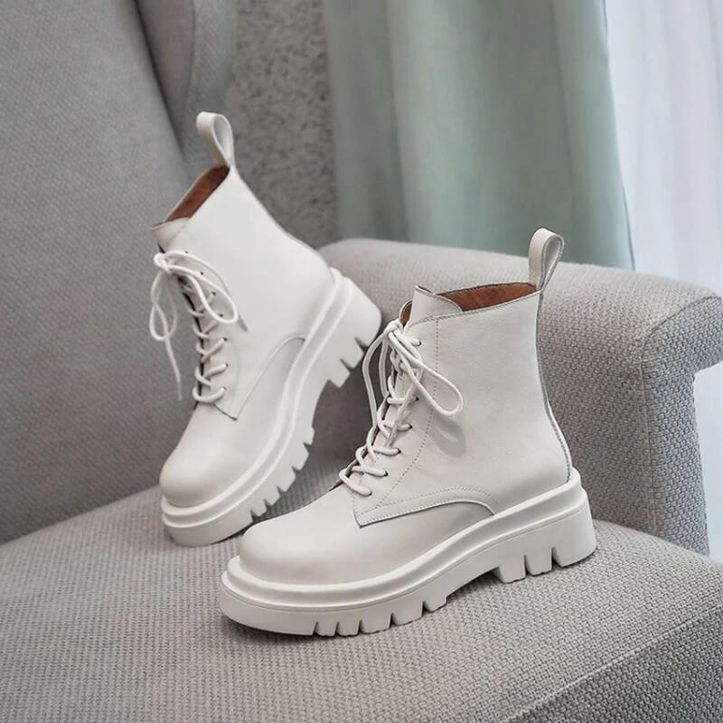 Красивые тёплые ботинки с Алиэкспресс