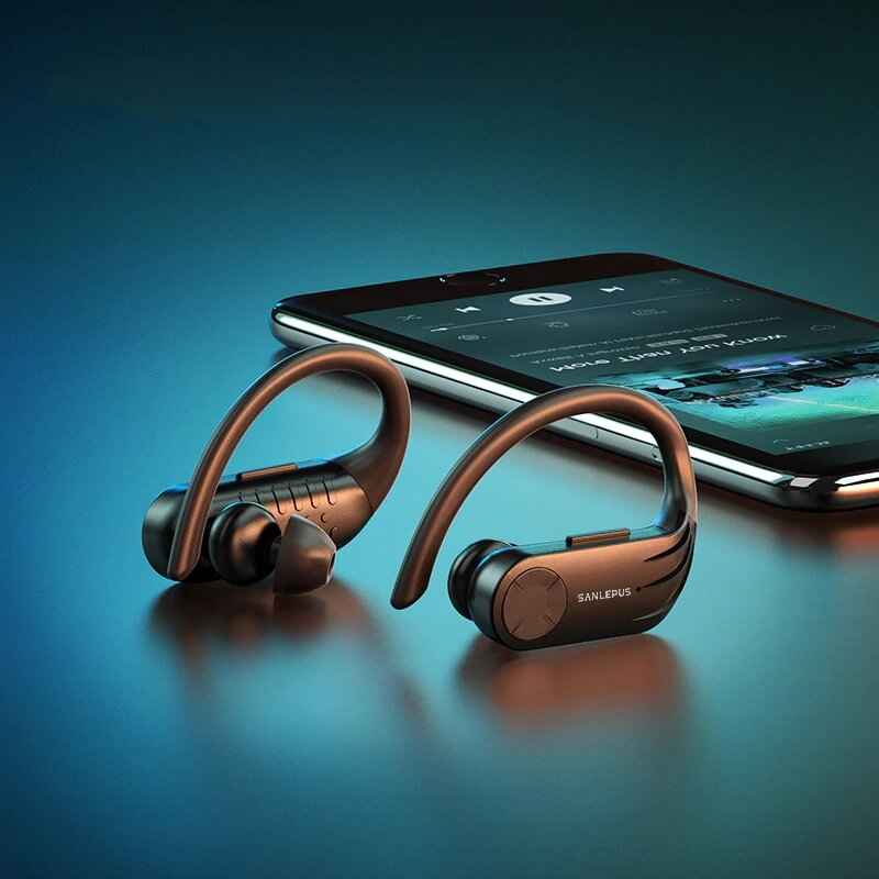 Водонепроницаемые Bluetooth наушники SANLEPUS B1