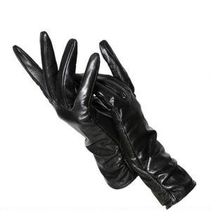Женские классические кожаные перчатки с Алиэкспресс