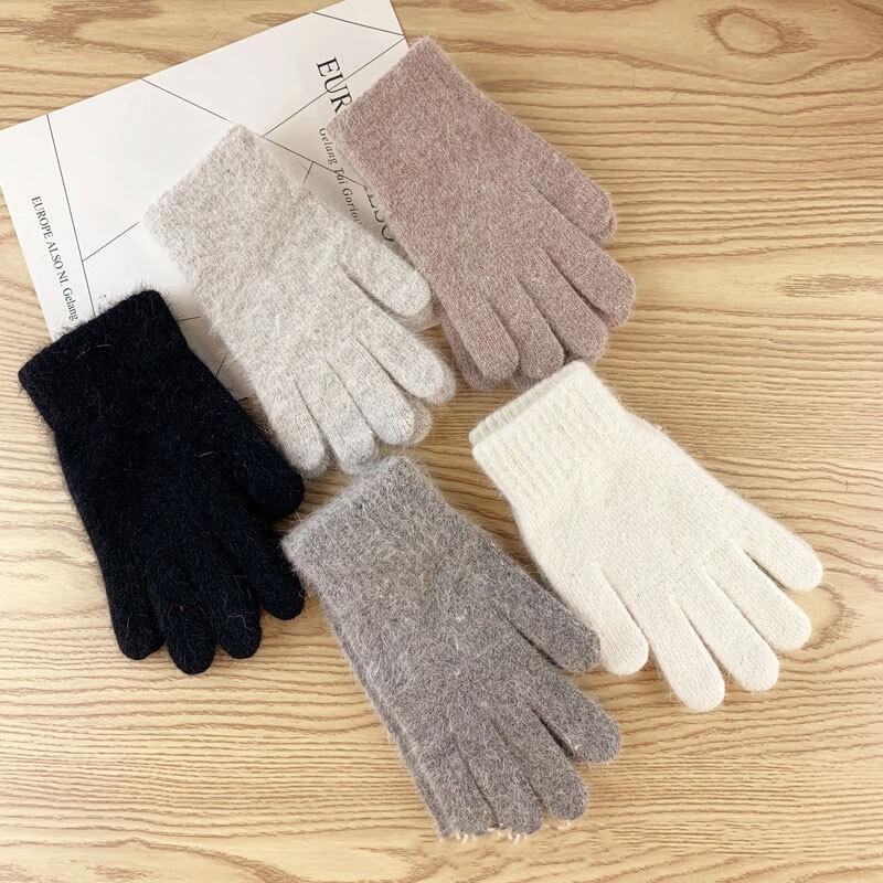 Женские тёплые зимние перчатки с Алиэкспресс