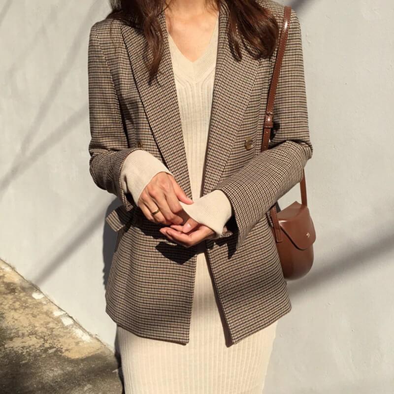 Женский отличный пиджак в офис с Алиэкспресс