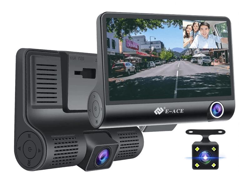 Автомобильный видеорегистратор E-ACE 4K UHD с Алиэкспресс