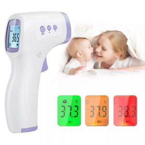 Бесконтактный термометр для измерения температуры тела с Алиэкспресс