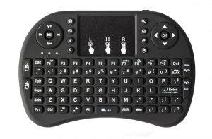 Беспроводная клавиатура с тачпадом Wechip i8 с Алиэкспресс