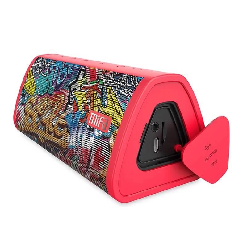 Bluetooth стереоколонка MIFA Red-Graffiti