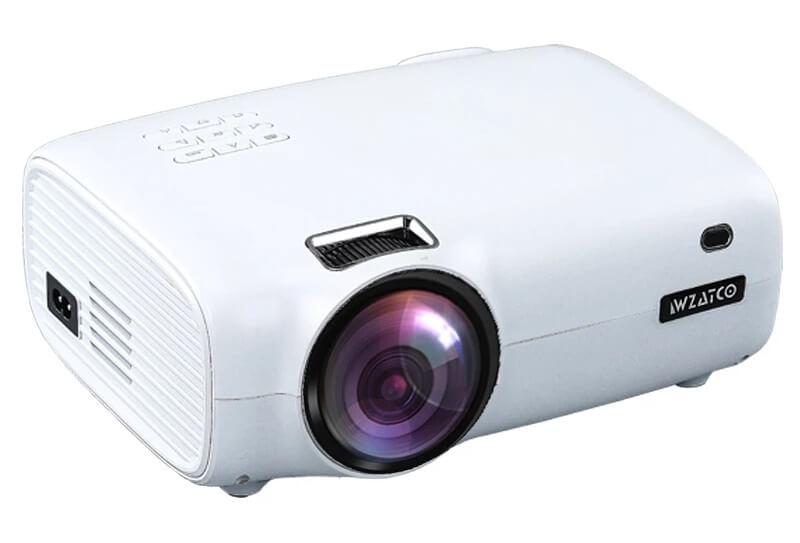 Бюджетный портативный проектор WZATCO E600
