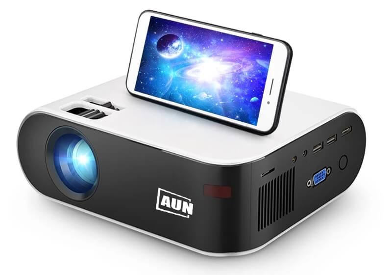 Домашний мини-проектор AUN W18 с Алиэкспресс