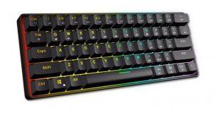 Игровая механическая клавиатура GK61 с Алиэкспресс