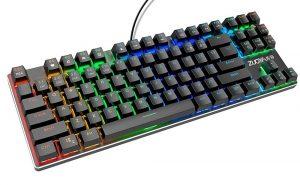Механическая клавиатура с подсветкой Zuoya с Алиэкспресс
