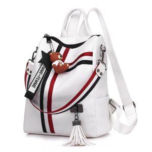 Милый женский кожаный рюкзак с Алиэкспресс