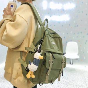 Модный женский рюкзак для учёбы с Алиэкспресс