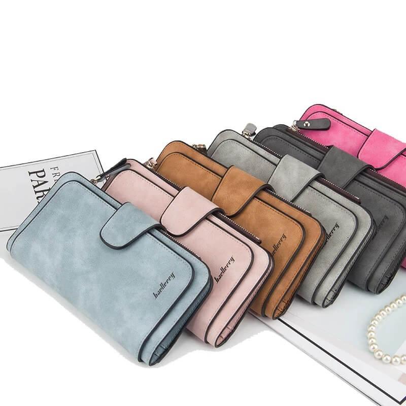 Отличный компактный женский кошелёк с Алиэкспресс