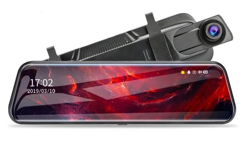 Видеорегистратор с камерой заднего вида Jansite 2,5K Ultra HD с Алиэкспресс
