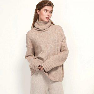 Женский кашемировый свитер с Алиэкспресс