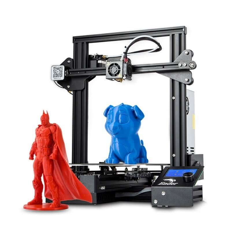 3D-принтер Creality Ender-3X с Алиэкспресс