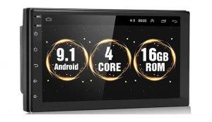 втомагнитола Podofo 2 din 7 дюймов на Android 9.1 с Алиэкспресс