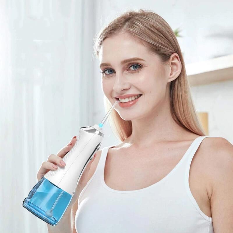 Ирригатор для полости рта H2ofloss HF-6 с Алиэкспресс