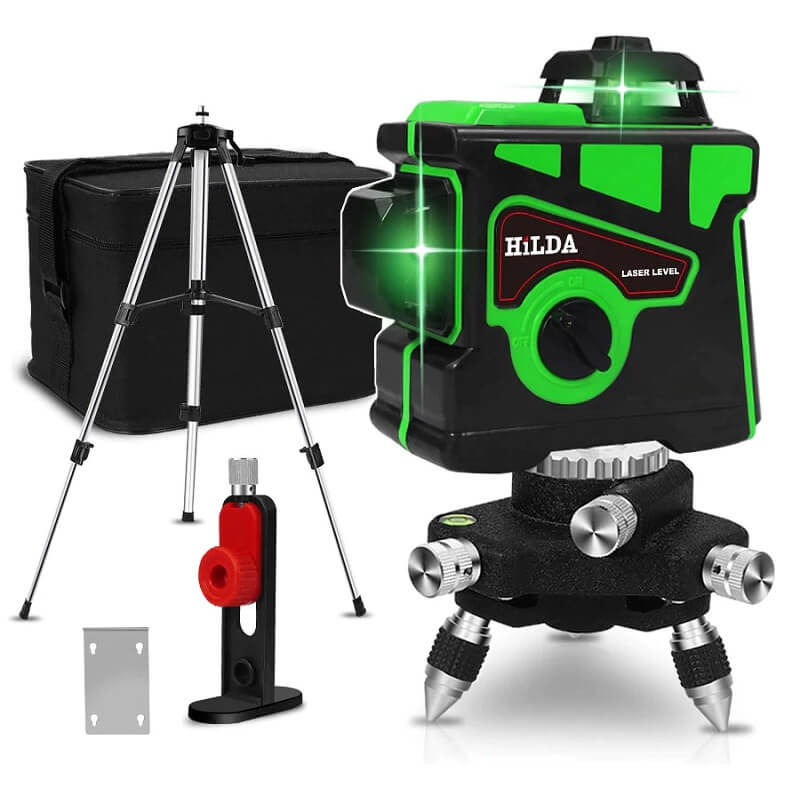 Лазерный нивелир Hilda 360 градусов с Алиэкспресс