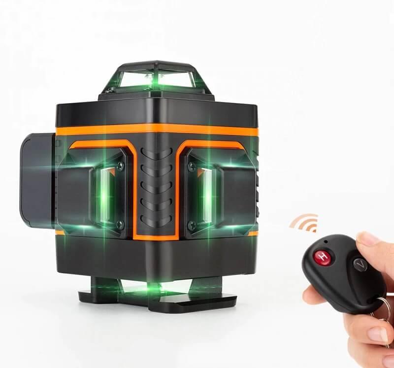 Лазерный нивелир Hilda 4D с Алиэкспресс