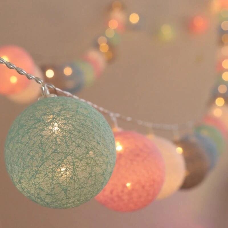 Рождественская светодиодная гирлянда с Алиэкспресс