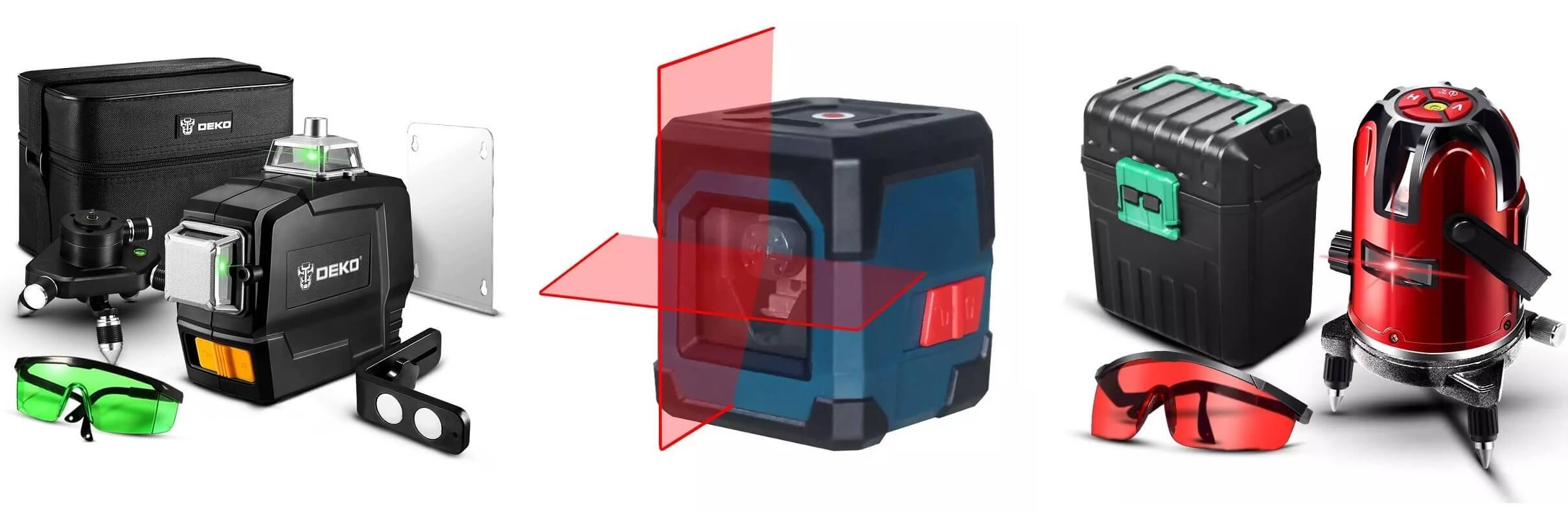 ТОП-10 лазерных уровней с Алиэкспресс