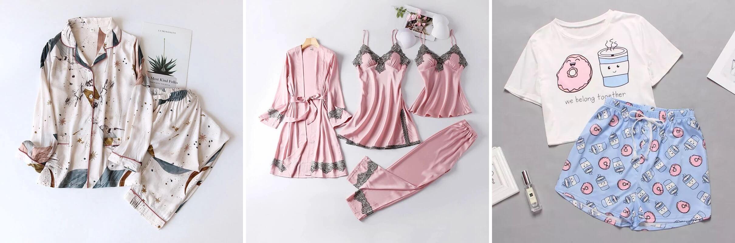 ТОП-10 женских пижам с Алиэкспресс