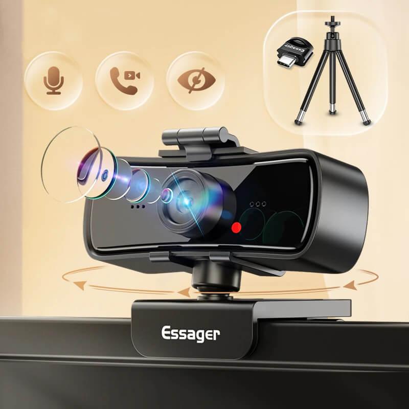 Веб-камера Essager C3 1080P Full HD с Алиэкспресс