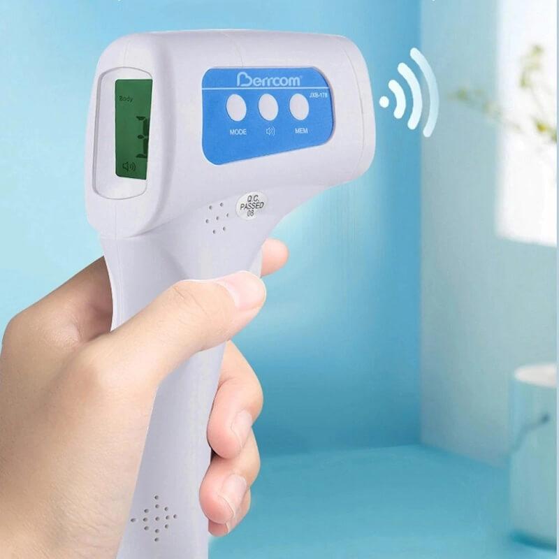 Бесконтактный инфракрасный термометр MasTech с Алиэкспресс