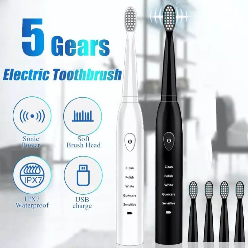 Электрическая зубная щетка Javemay с Алиэкспресс