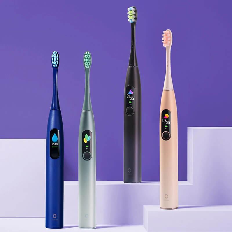 Электрическая зубная щетка Oclean X Pro с Алиэкспресс
