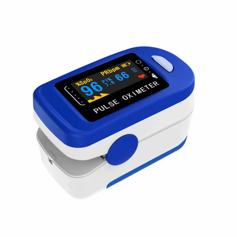 Портативный пульсоксиметр с Алиэкспресс
