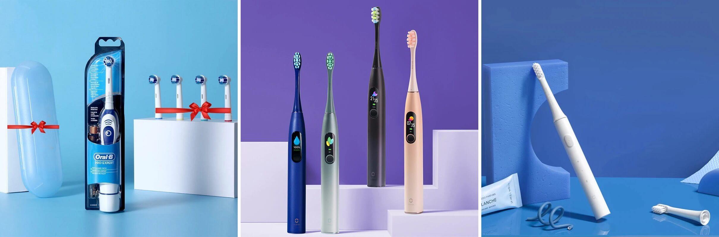 ТОП-10 электрических зубных щеток с Алиэкспресс