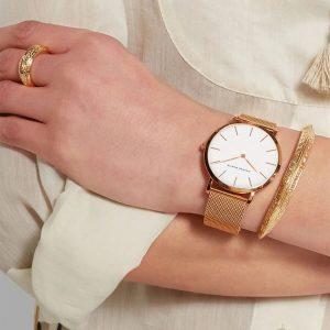 Женские кварцевые часы Hannah Martin с Алиэкспресс