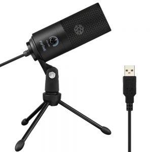 Конденсаторный USB-микрофон Fifine K669B с Алиэкспресс