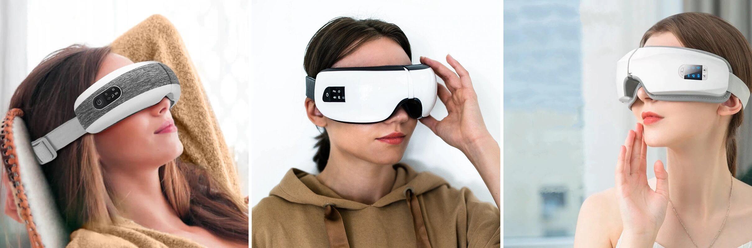 ТОП-10 массажёров для глаз с Алиэкспресс