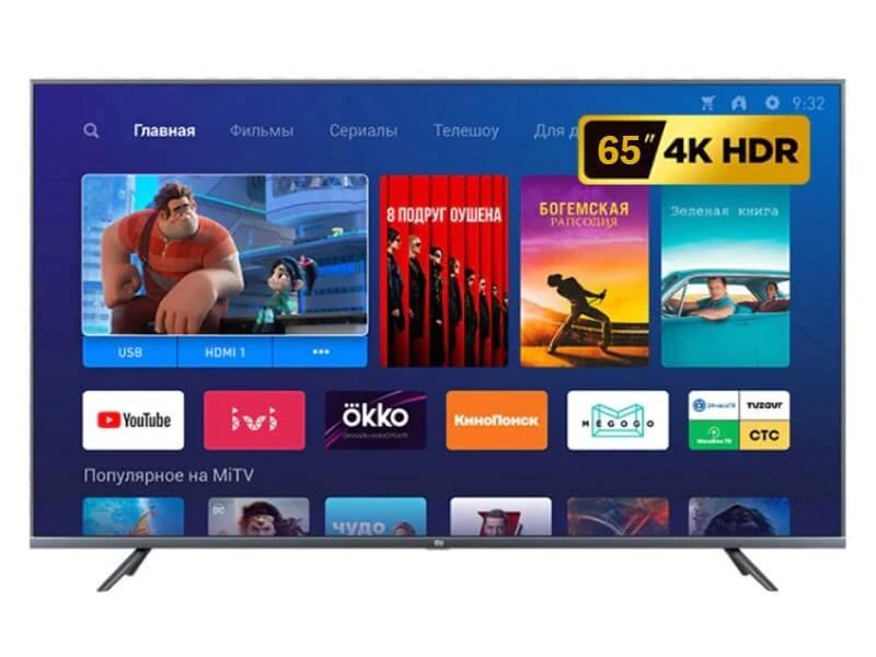 Телевизор Xiaomi Mi TV 4S 65 дюймов с Алиэкспресс