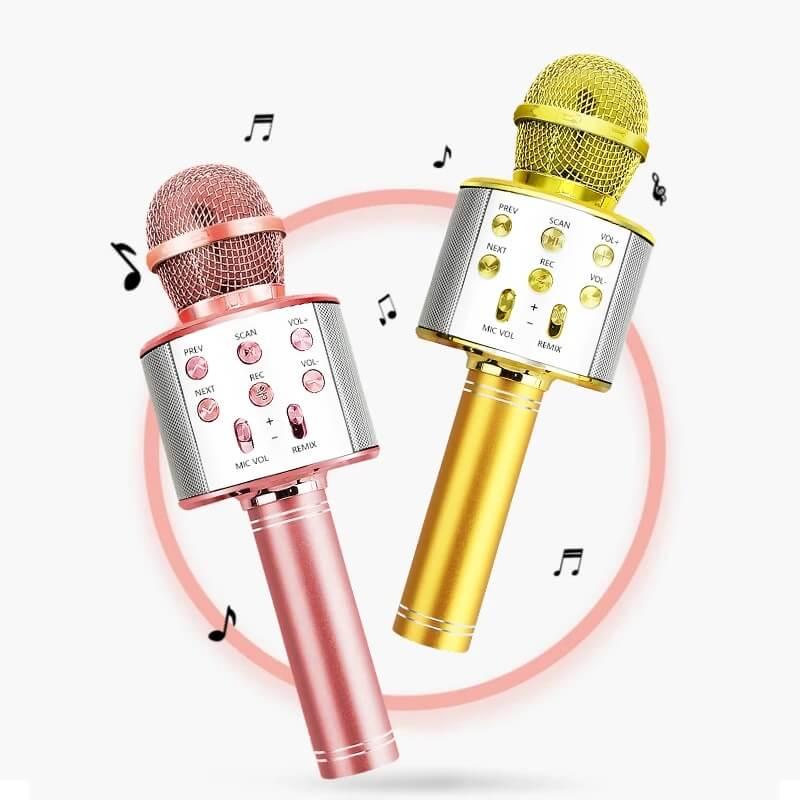 Беспроводной микрофон для караоке iMice с Алиэкспресс