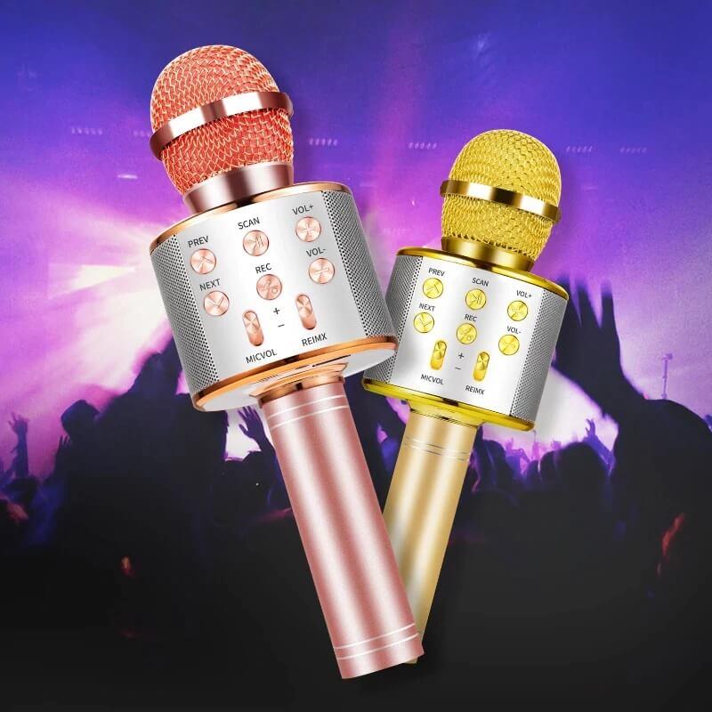 Беспроводной микрофон для караоке Zundian с Алиэкспресс