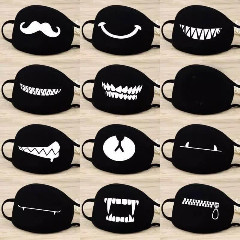 Хлопковые маски для лица с принтом с Алиэкспресс