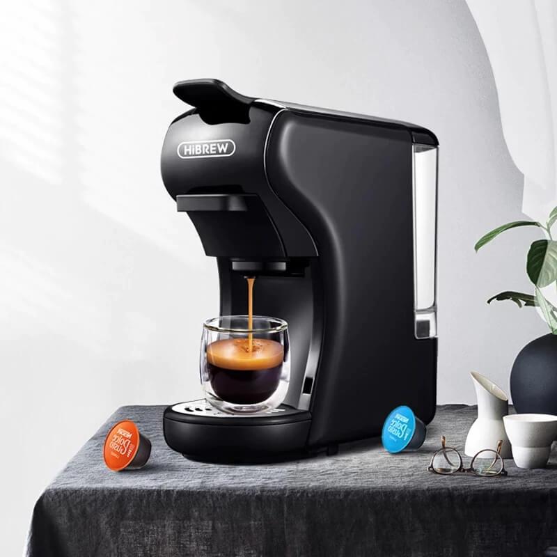 Капсульная кофемашина HiBREW H001 с Алиэкспресс