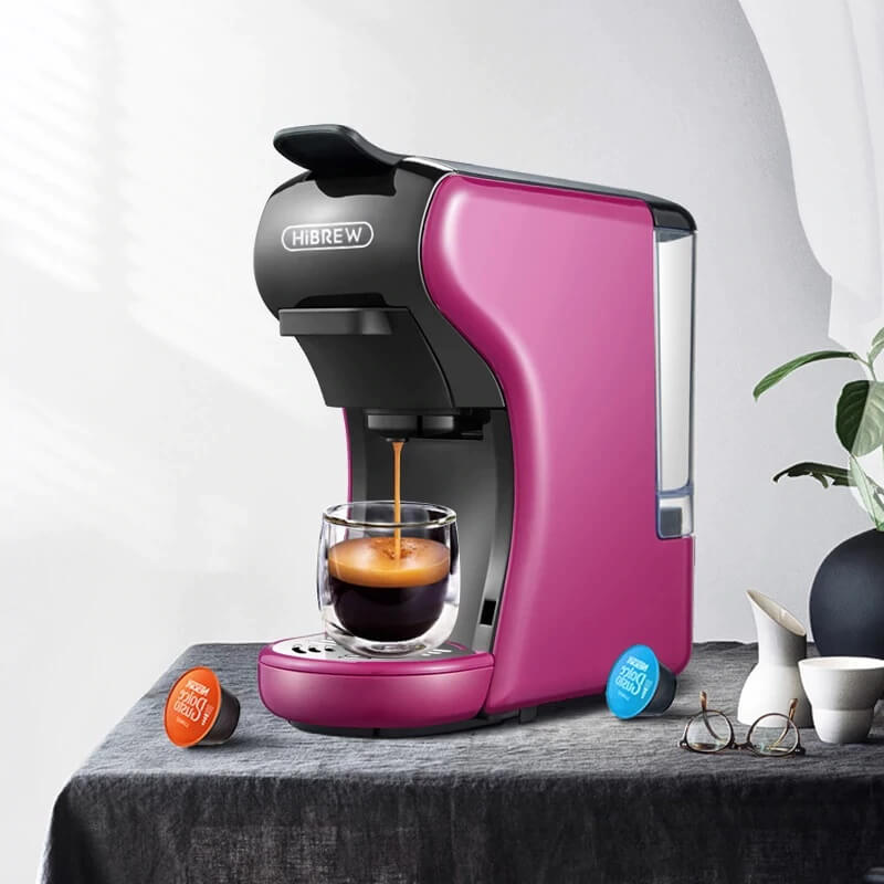 Капсульная кофеварка HiBREW ST504 с Алиэкспресс