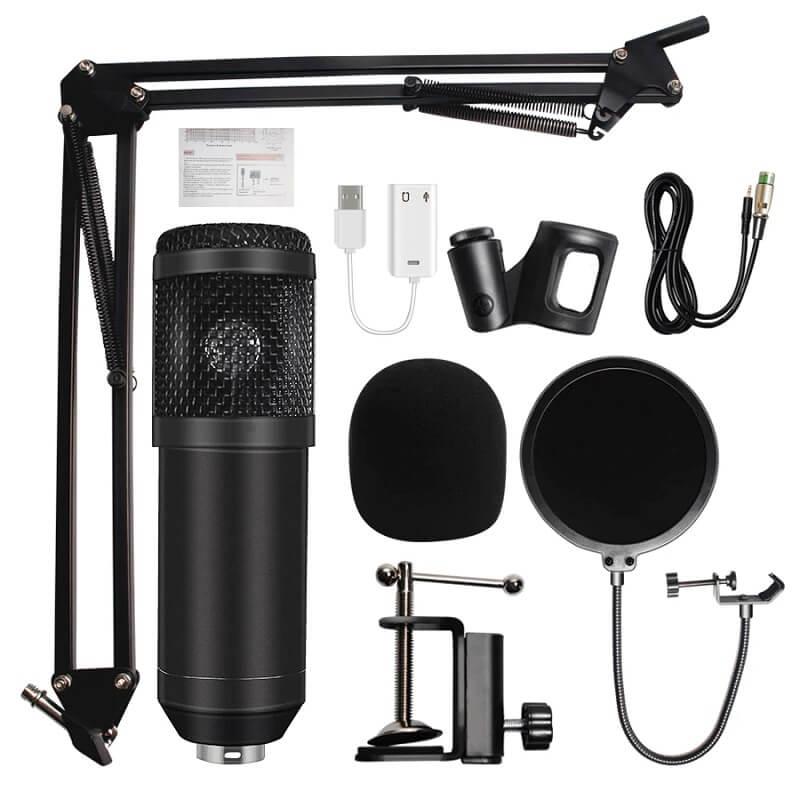 Конденсаторный микрофон Hdsnh bm800 с Алиэкспресс
