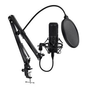 Конденсаторный USB-микрофон Hdsnh D80 с Алиэкспресс