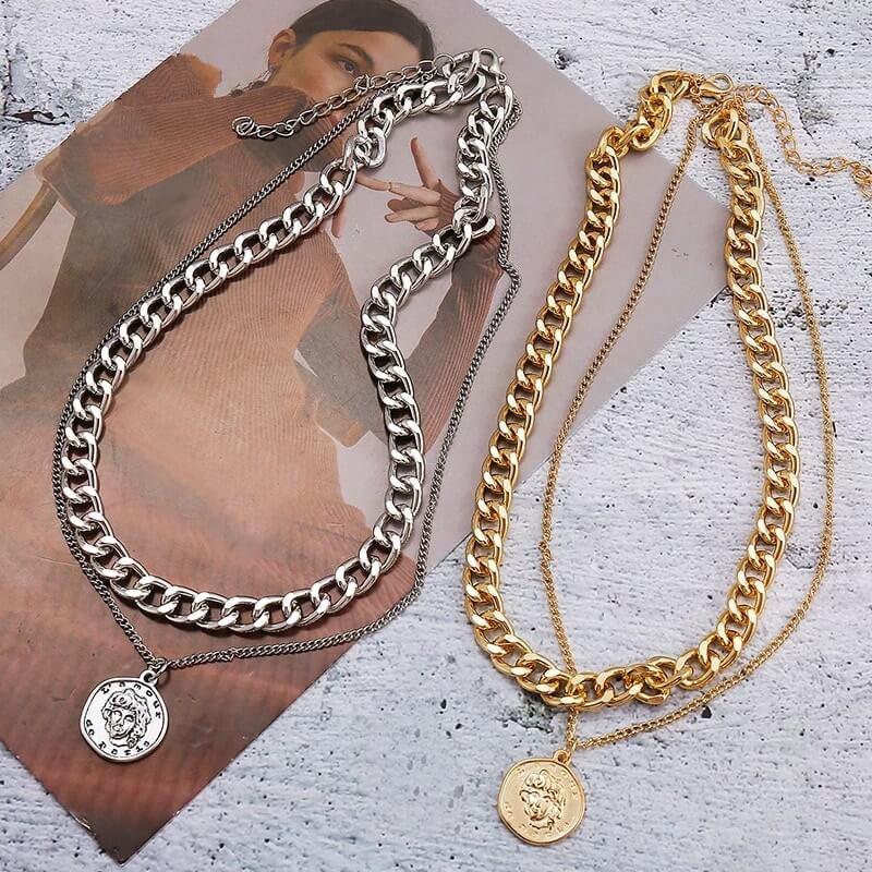 Красивое ожерелье 17KM с Алиэкспресс