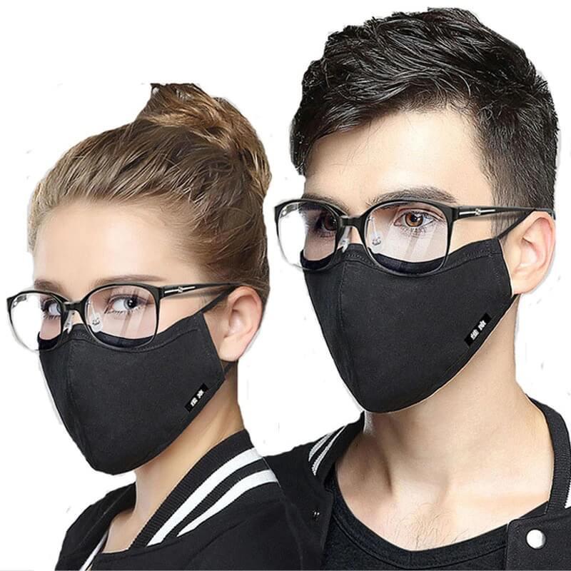 Многоразовая хлопковая маска с фильтром с Алиэкспресс